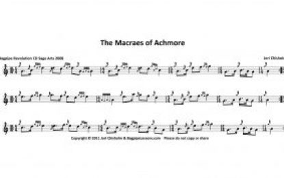 New Tune:  The Macraes of Achmore