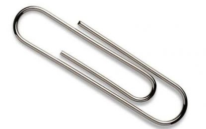 Learn to control your finger height with this simple paperclip trick.