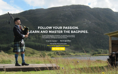 Check out the new BagpipeLessons.com Shop and my six new practice guides