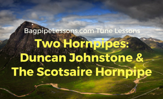 Two New Hornpipes:  Duncan Johnstone & The Scotsaire Hornpipe