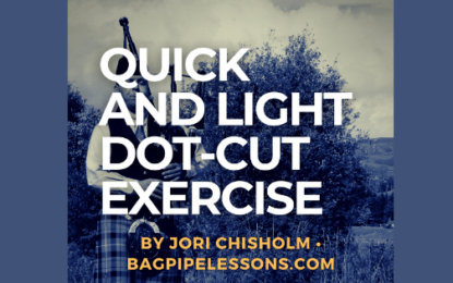 Quick and Light Dot-Cut Exercise
