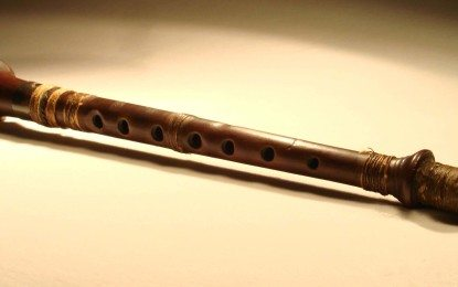 Close up with the world's oldest bagpipe chanter