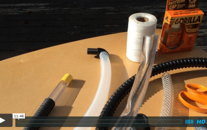 How to build your own ultimate water trap