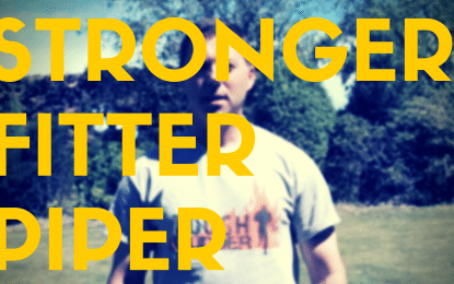 The Stronger, Fitter Piper #4:  Strengthening Your Shoulder Girdle (HD Video)
