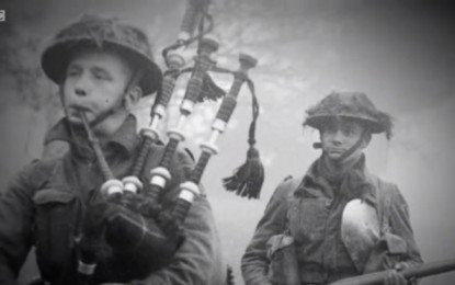 Pipers of the Trenches:  New BBC Documentary Film